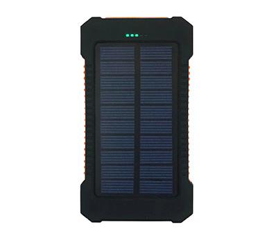 ソーラーライト付きバッテリー