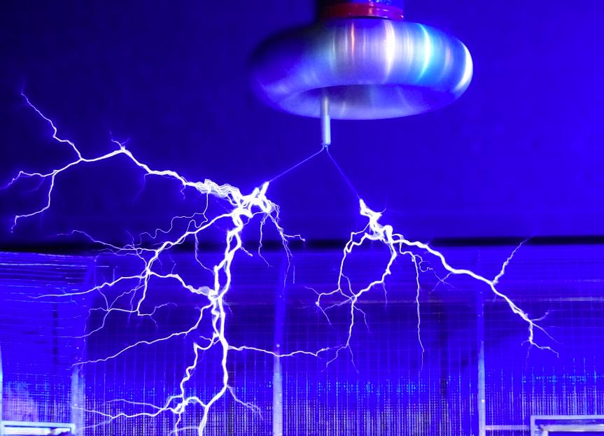 静電気 放電