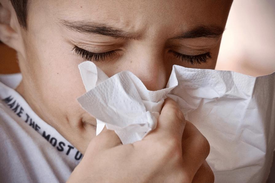 インフルエンザ 少年