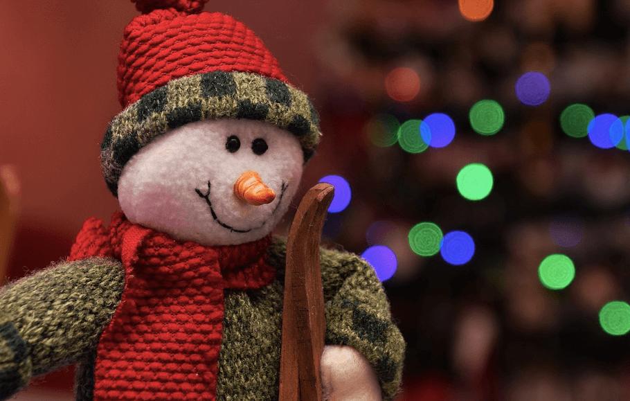 寒い冬 ネックウォーマー