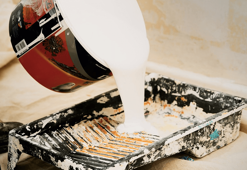 塗装工 ペンキ塗り
