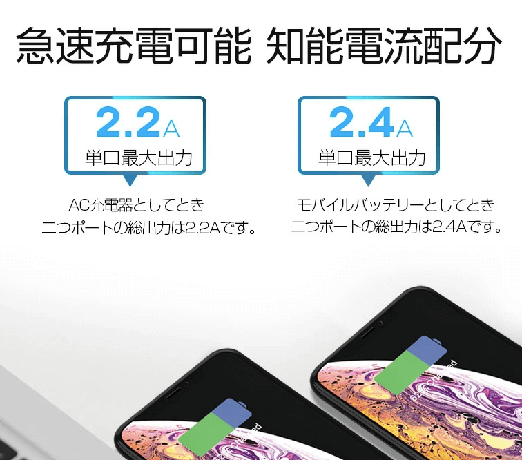 コンセント モバイルバッテリー