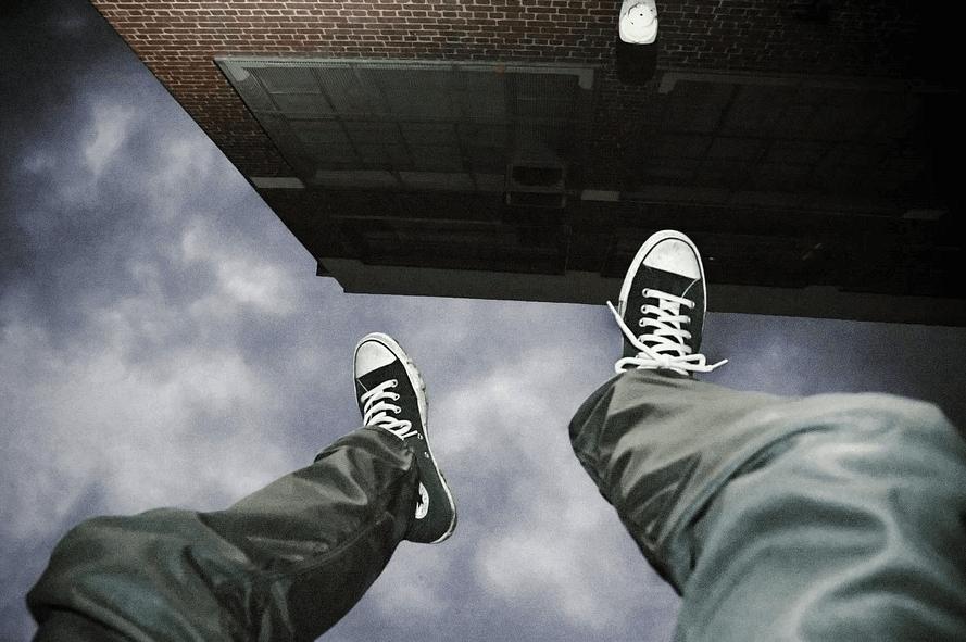 安全靴を着用していない