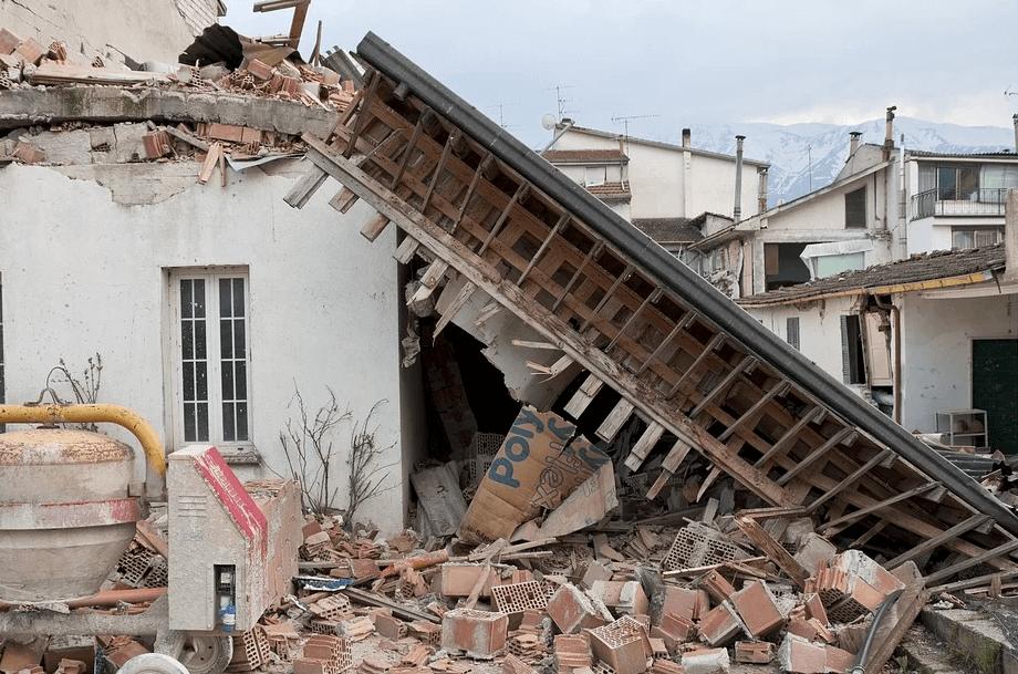 震災時の 光景